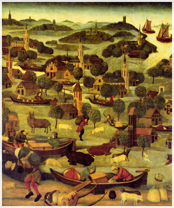 Sint Elisabethsvloed in 1421